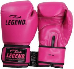 Legend Sports bokshandschoenen PowerFit dames roze maat 16oz