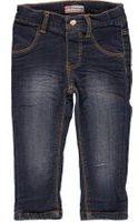 Blauwe Feetje! Meisjes Tregging - Maat 56 - Denim - Jeans