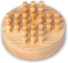 Longfield Games solitaire reiseditie rubber/hout