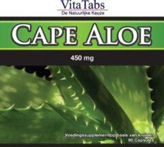 Vitalabs VitaTabs Cape Aloë - 450 mg - 90 capsules - Voedingssupplementen