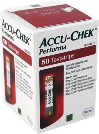 Afbeelding van Roche Accu Chek Performa Bloedglucosemeterset Teststrip - 50 strips