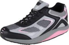 HSM Schuhmarketing WELLNESS KOMFORT Damen Gesundheits Schuh, Schwarz/Multi/38 /schwarz/multi