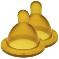 Bruine Goldi Sauger Flessenspeen - ø 53mm - 0-24 M 53mm - 0-24 Maanden
