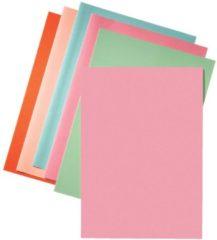 Esselte dossiermap roze, papier van 80 g/m², pak van 250 stuks