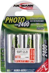 Ansmann Energy Ansmann Mignon Photo - Batterie 4 x AA-Typ NiMH (wiederaufladbar) 2400 mAh 5030482