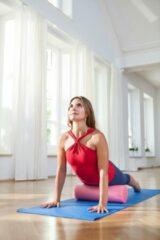 Roze Fascia/pilates rol - pink pink Yogablok YOGISTAR