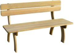 Bruine VidaXL Tuinbank 150 cm FSC geïmpregneerd grenenhout