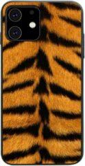 Able & Borret Smartphone hoesje | Telefoon hoesje | Anti shock | Panterprint | Oranjegeel | iPhone 11