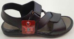 S.F. Shoes Heren Sandalen Heren Wandelsandalen Zwart Maat 41
