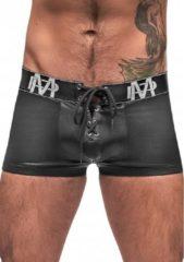 Grijze Male Power - Lace Up Short - Black - Maat S