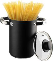 Gusta® Gusta asperge-Spaghettipan - zwart - 4 liter 16 cm