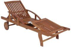 Garden Pleasure Sonnenliege Beverly Hills Relaxliege Garten Holz Liege