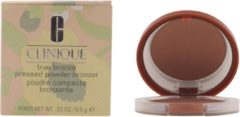 Bruine Clinique True Bronze Pressed Powder Bronzer - 02 Sunkissed