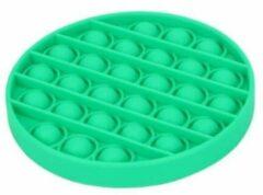 Merkloos / Sans marque Pop it Fidget Toy- Bekend van TikTok - Rondje- Groen