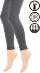 Antraciet-grijze Dames Thermo Legging - Antraciet - Maat L/XL