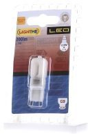 LightMe LED-lamp Energielabel A++ (A++ - E) G9 Stift 2.5 W = 21 W Warmwit (Ã x l) 16 mm x 47 mm 1 stuk(s)