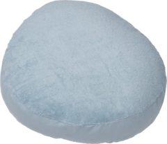Blauwe Form-Fix Voedingskussenhoes - Hoes voor Sit Fix XL - 100% katoen en comfortabel badstof - Soft blue