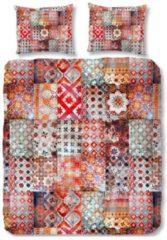 Dekbedovertrek Ernesto - Multi - 2-persoons (200 x 200/220 cm) - Katoensatijn - Rood   Meerkleurig   Multi   Multicolor - ZouZou