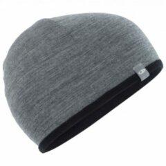 Icebreaker - Pocket Hat - Muts maat One Size, grijs/zwart
