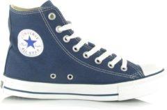 Marineblauwe Converse Chuck Taylor All Star Sneakers Hoog Unisex - Navy - Maat 42