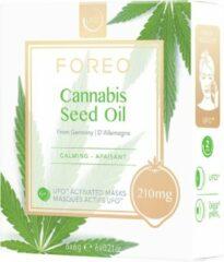FOREO MASK CANNABIS SEED OIL X6 Cannabis Seed Oil UFO Kalmerend Masker