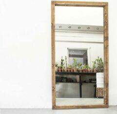 Donkerbruine Moodadventures   Exclusives   Spiegels   Lijst Walnoot Hout   214x114 cm.