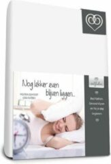 Witte Bed-Fashion Molton Boxspring hoeslaken 80 x 210 cm 40cm hoek