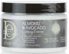 Design Essentials - Natural Almond & Avocado Curling Cream - 355ml