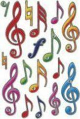 Stickers Herma 6181 MAGIC muzieksleutel, Jewel