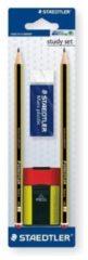 Set 2 Matite HB - 1 Gomma - 1 Temperamatite Staedtler