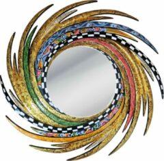 Tom's Company Kleurrijk, grappig en vrolijk, in alle kleuren van de regenboog: Spiegel Energie M, goud