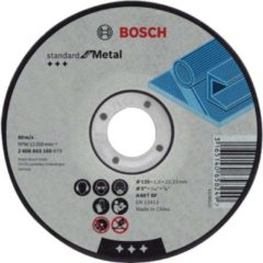 Bosch Trennscheibe gerade Expert for Metal AS 46 S BF, 1 VPE: 25