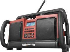 PerfectPro Workman 2 Baustellenradio mit UKW-RDS u. Stereo-Sound