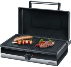Grill Barbecue-Grill PG 2368 Severin Silber