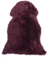 Paarse Beliani ULURU - Schapenvacht - Violet - Schapenvacht