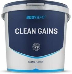 Body & Fit Clean Gains - Weight gainer - 4500 gram - Banana
