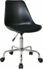 VDD Bureaustoel - hoogte verstelbaar - zwart