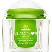 Alessandro Pflege All About Love Handcreme with Love 200 ml
