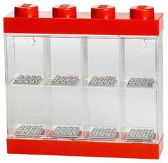 Rode Lego Opbergbox : Minifigures Rood 8-delig (40650001)