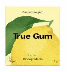 True Gum Plastic Vrije Kauwgom Lemon 21 gr