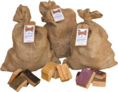 Rookplankje.nl Chunks Assortiment | Cherry, Wine, Whisky