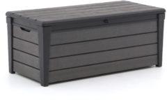 Grijze Keter Brushwood opbergbox 145cm - Laagste prijsgarantie!