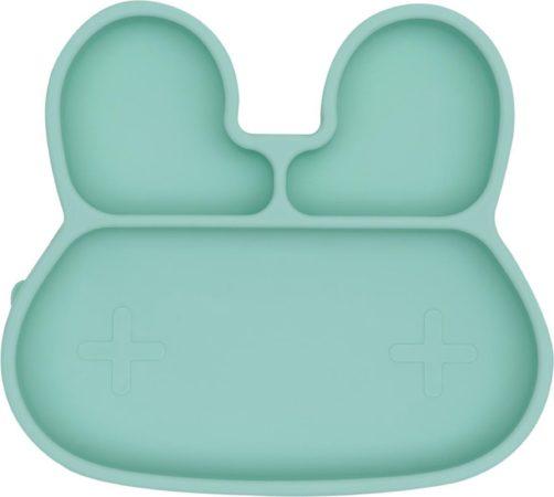 Afbeelding van We Might Be Tiny Konijn Stickie Plate Mint Groen