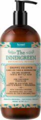 Lunel biologische Volume shampoo voor dun en broos haar, kwetsbaar haar, lang en beschadigd haar, natuurlijke ingrediënten 500ml