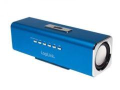 LogiLink DiscoLady Soundbox - Ghettoblaster - USB-Host, Flash-Speicherkarte