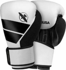 Hayabusa S4 Bokshandschoenen - Wit - 14 oz - met gratis zwarte Handwraps