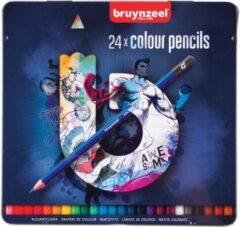 Bruynzeel Sakura 60212024 kleurpotlood 24 stuk(s) Multi kleuren