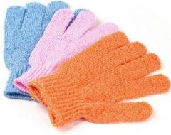 Paarse Merkloos / Sans marque Scrubhandschoenen scrubben