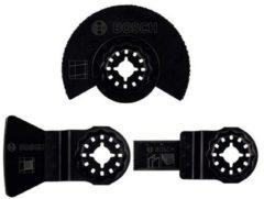 Multitool toebehorenset 3-delig Bosch Accessories PMF 2607017324 Geschikt voor merk Fein, Makita, Bosch, Milwaukee, Metabo 1 set