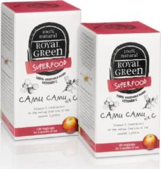 Royal Green Royal groen Camu camu vitamine C 60 Vegacaps